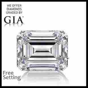 10.68 ct, Color I/VVS1, Emerald cut GIA Graded Diamond