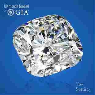 2.01 ct, Color F/VVS2, Cushion cut GIA Graded Diamond