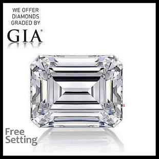 1.51 ct, Color E/VS1, Emerald cut GIA Graded Diamond