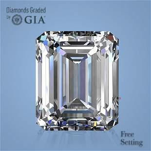 3.01 ct, Color E/VS1, Emerald cut GIA Graded Diamond