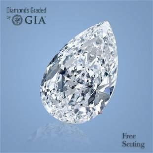 3.02 ct, Color I/VVS1, Pear cut GIA Graded Diamond