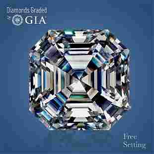 4.50 ct, Color E/VS2, Sq. Emerald cut GIA Graded