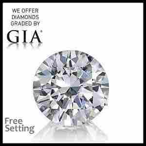 3.01 ct, Color G/VS1, Round cut GIA Graded Diamond