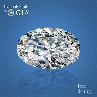 5.01 ct, Color D/VS2, Oval cut GIA Graded Diamond