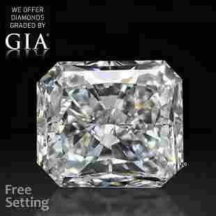 2.50 ct, Color E/VS1, Radiant cut GIA Graded Diamond
