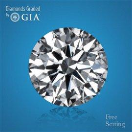 8.66 ct, Color F/FL, Round cut GIA Graded Diamond