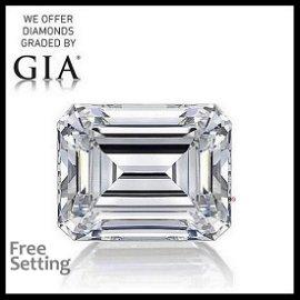 20.21 ct, Color J/VS1, Emerald cut GIA Graded Diamond
