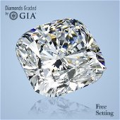 3.52 ct, Color G/VS2, Cushion cut GIA Graded Diamond