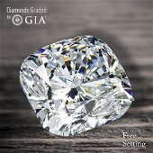 2.50 ct, Color E/VVS2, Cushion cut GIA Graded Diamond