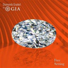3.53 ct, Color D/VS1, Oval cut GIA Graded Diamond