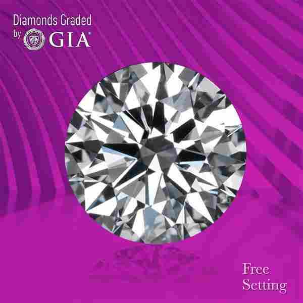 2.11 ct, Color E/VS1, Round cut GIA Graded Diamond
