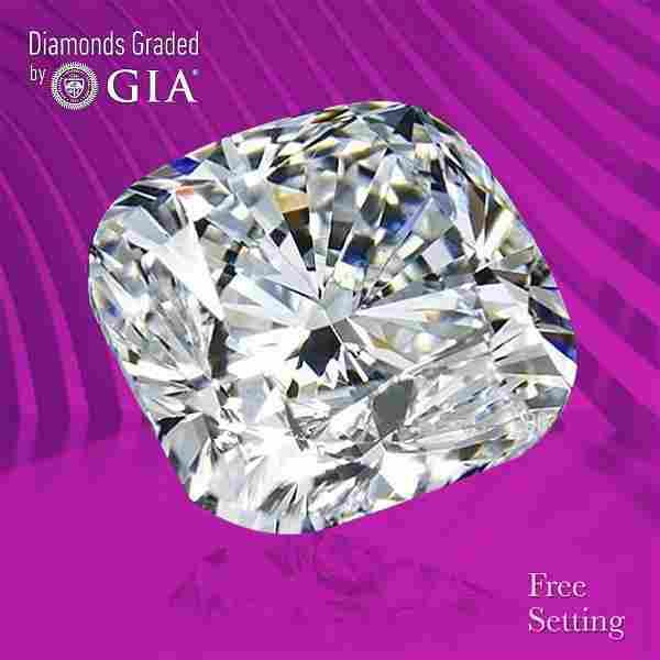 1.70 ct, Color I/VS1, Cushion cut GIA Graded Diamond