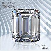 3.01 ct, Color D/VS1, Emerald cut GIA Graded Diamond
