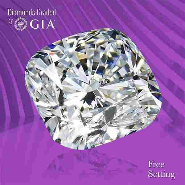 2.04 ct, Color F/VVS2, Cushion cut GIA Graded Diamond