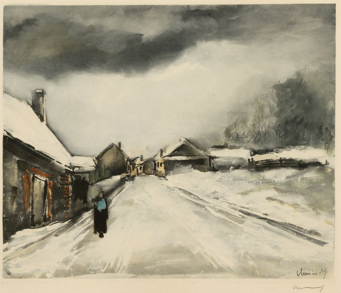 6: Maurice de Vlaminck 1876 Paris - 1958 Rueil-la-Gadel