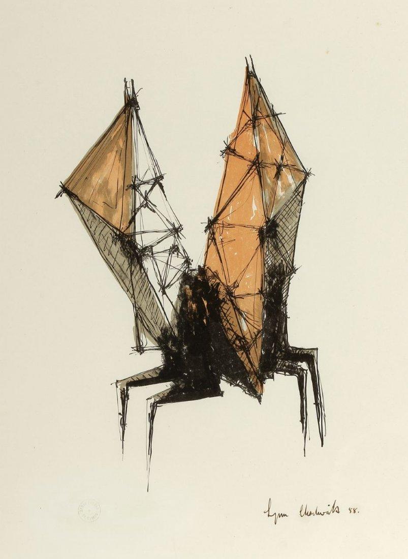 7: Lynn Chadwick 1914 London - 2003 Strout - 'Winged Fi