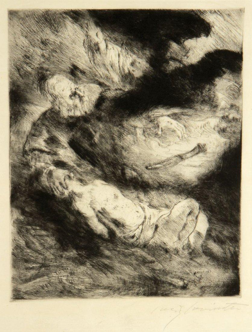 19: Lovis Corinth 1858 Tapiau - 1925 Amsterdam - 'Die O