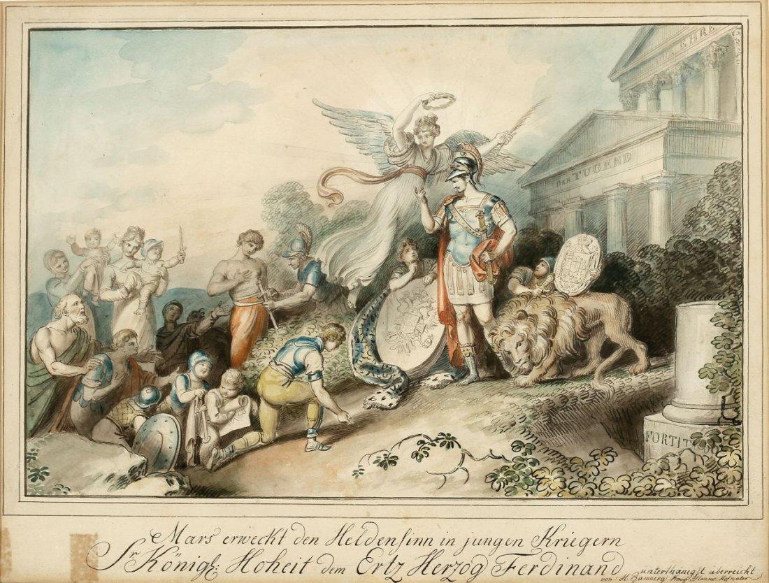 27: Johann Heinrich Ramberg 1763 Hannover - 1840 Hannov