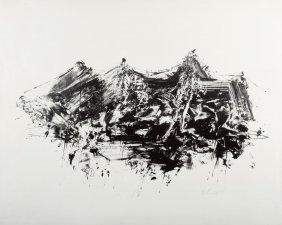 Helmut Rogge 1924 Harenberg - Abstrahierte Landscha