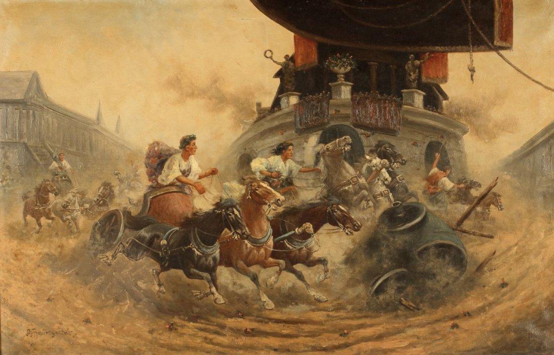 90: Adolf Baumgartner-Stoiloff 1850 Linz - 1924 Wien -