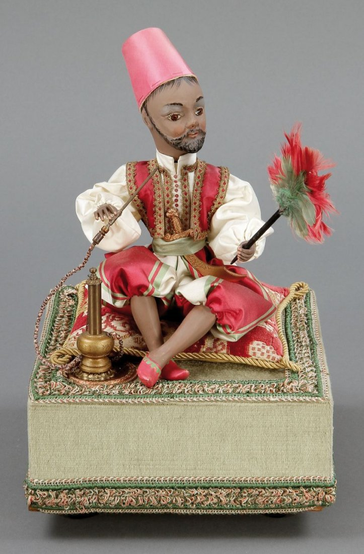1074: Spieluhr 'Turkish March' Fa. Reuge, Saint Croix,
