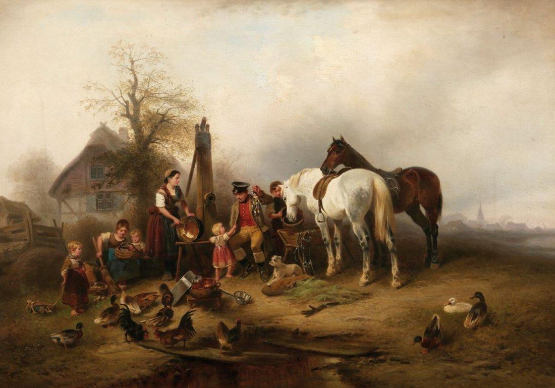 1: Wilhelm Alexander Meyerheim 1815 Danzig - 1882 Berli