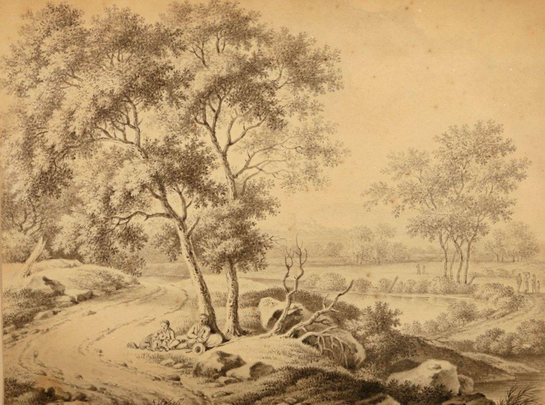 4: Ferdinand Kobell 1740 Mannheim - 1799 München - Rast