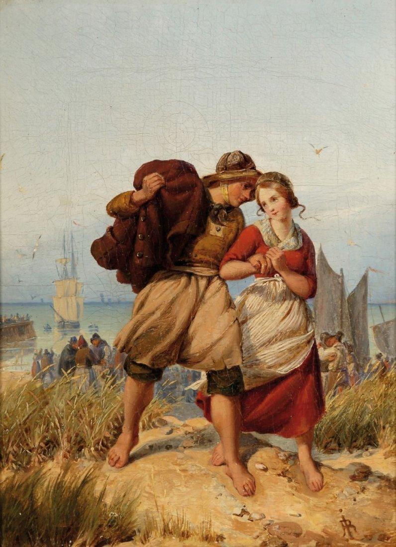 6: Rudolf Jordan 1810 Berlin - 1887 Düsseldorf - Der ju