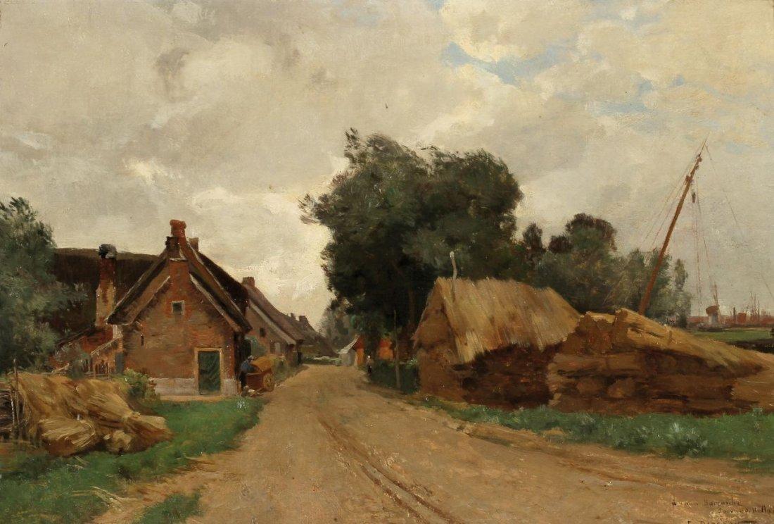 8: Emile-Charles Dameron 1848 Paris - 1908 Paris - Dorf