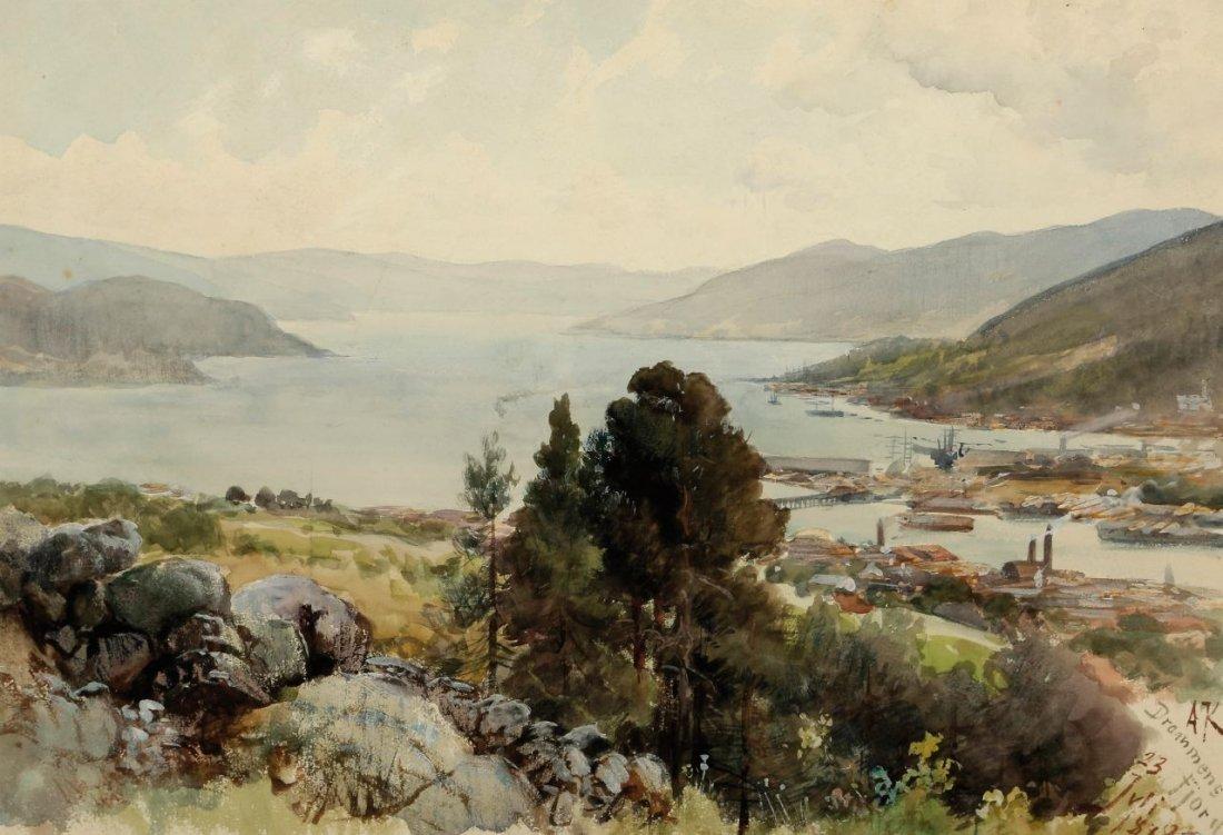 15: Alexander Kips 1858 Berlin - 1910 Berlin - 'Drammen