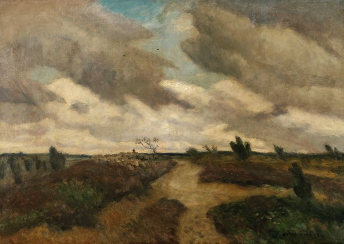 16: Otto Modersohn 1865 Soest - 1943 Rotenburg - 'Lüneb