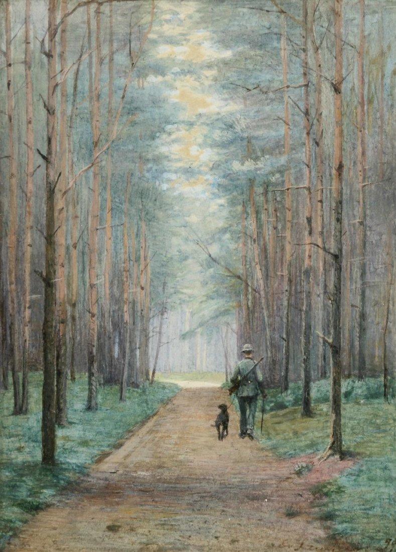 22: Ernst von Saucken 1856 Tataren - 1920 Berlin - Jäge