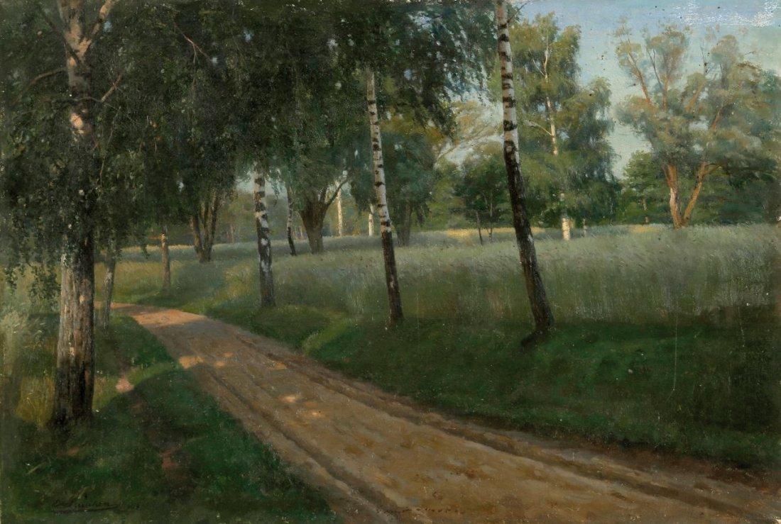 23: Ernst von Saucken 1856 Tataren - 1920 Berlin - Wald