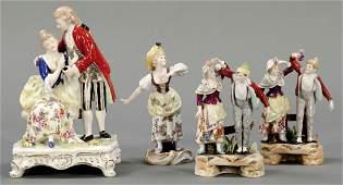 975: 4 Figuren Ernst Bohne Söhne, Rudolstadt 1901-1937
