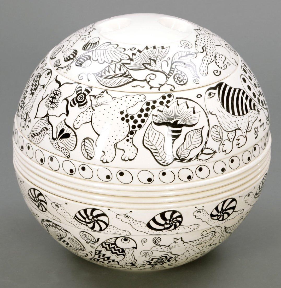 1863: Die Kugel - La Boule, Cats Rule the Word Villeroy