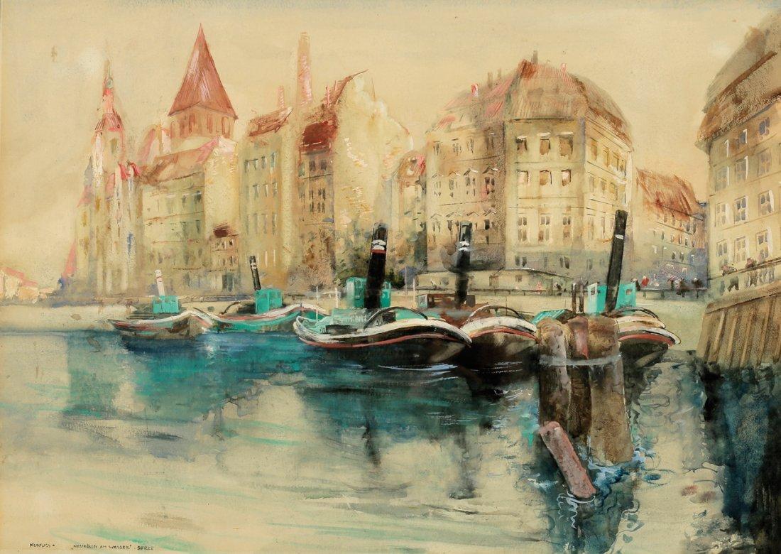 Paul Kuhfuss 1883 Berlin - 1960 Berlin - 'Neukölln