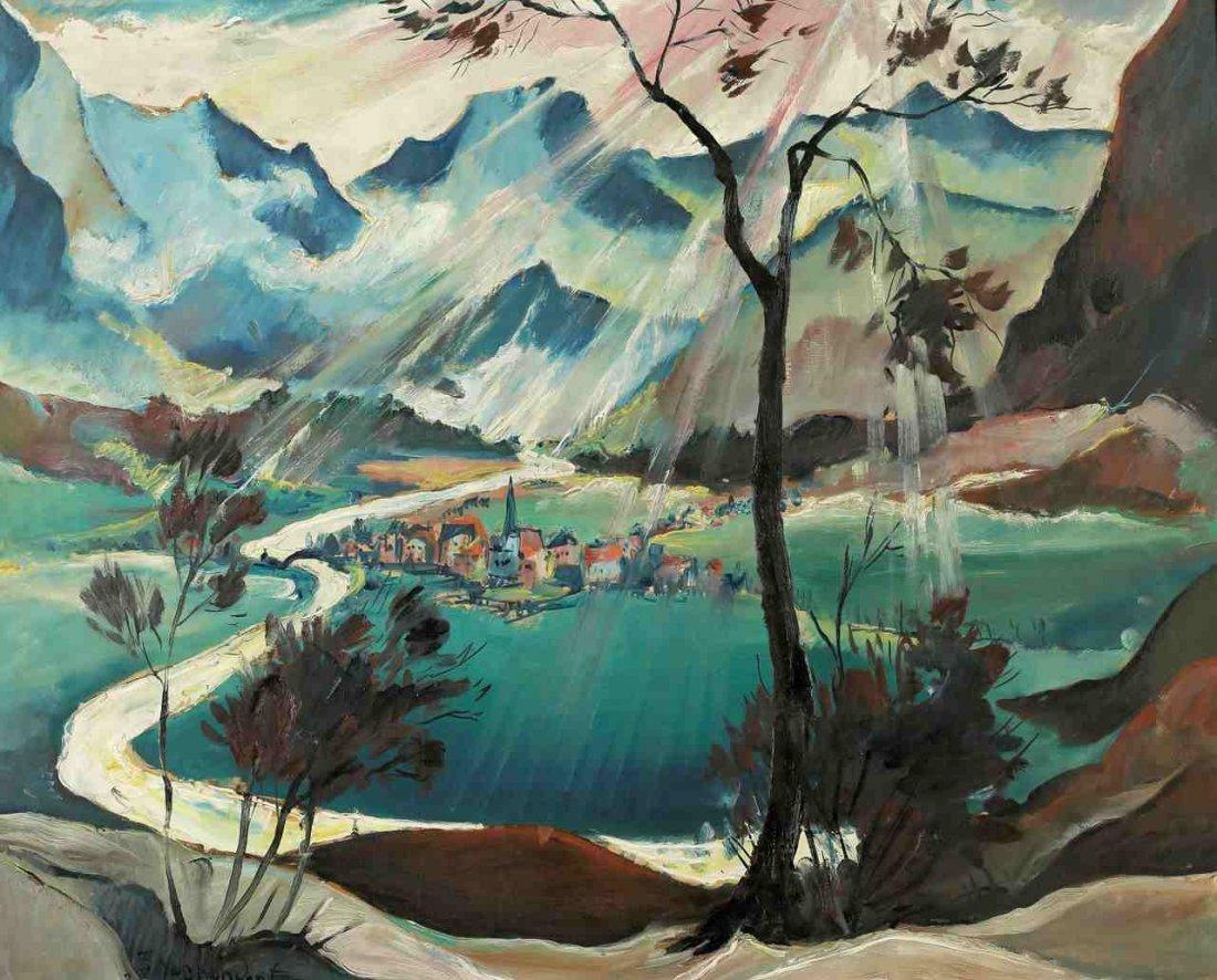 Franz Heckendorf 1888 Berlin - 1962 München - Alpi