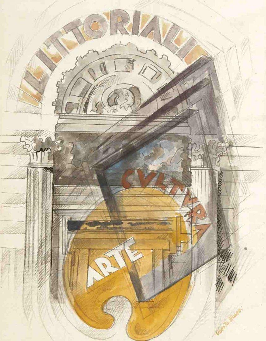 Uberto Bonetti 1909 Viareggio - 1993 Viareggio - 'Litto