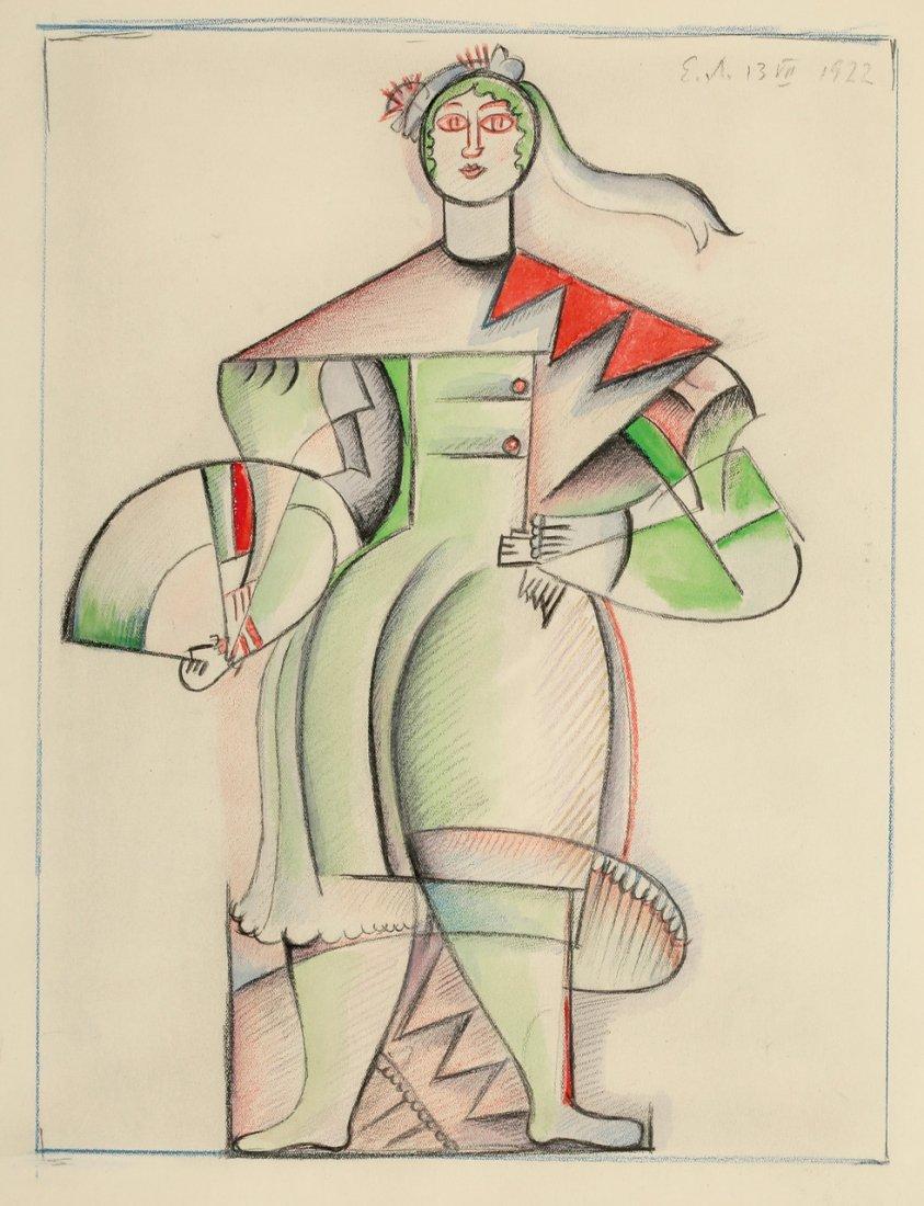 Elena Liessner-Blomberg 1897 Moskau - 1978 Berlin - Wei