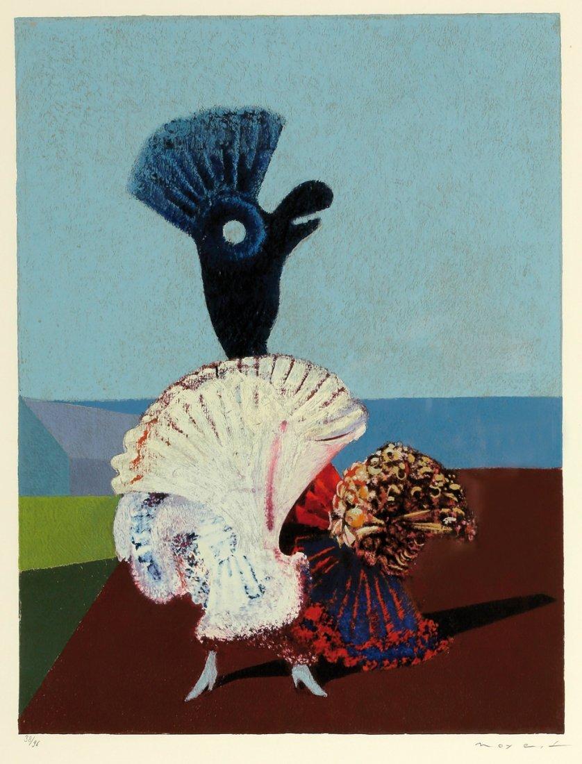 Max Ernst 1891 Brühl - 1976 Paris - 'Danseuse espa