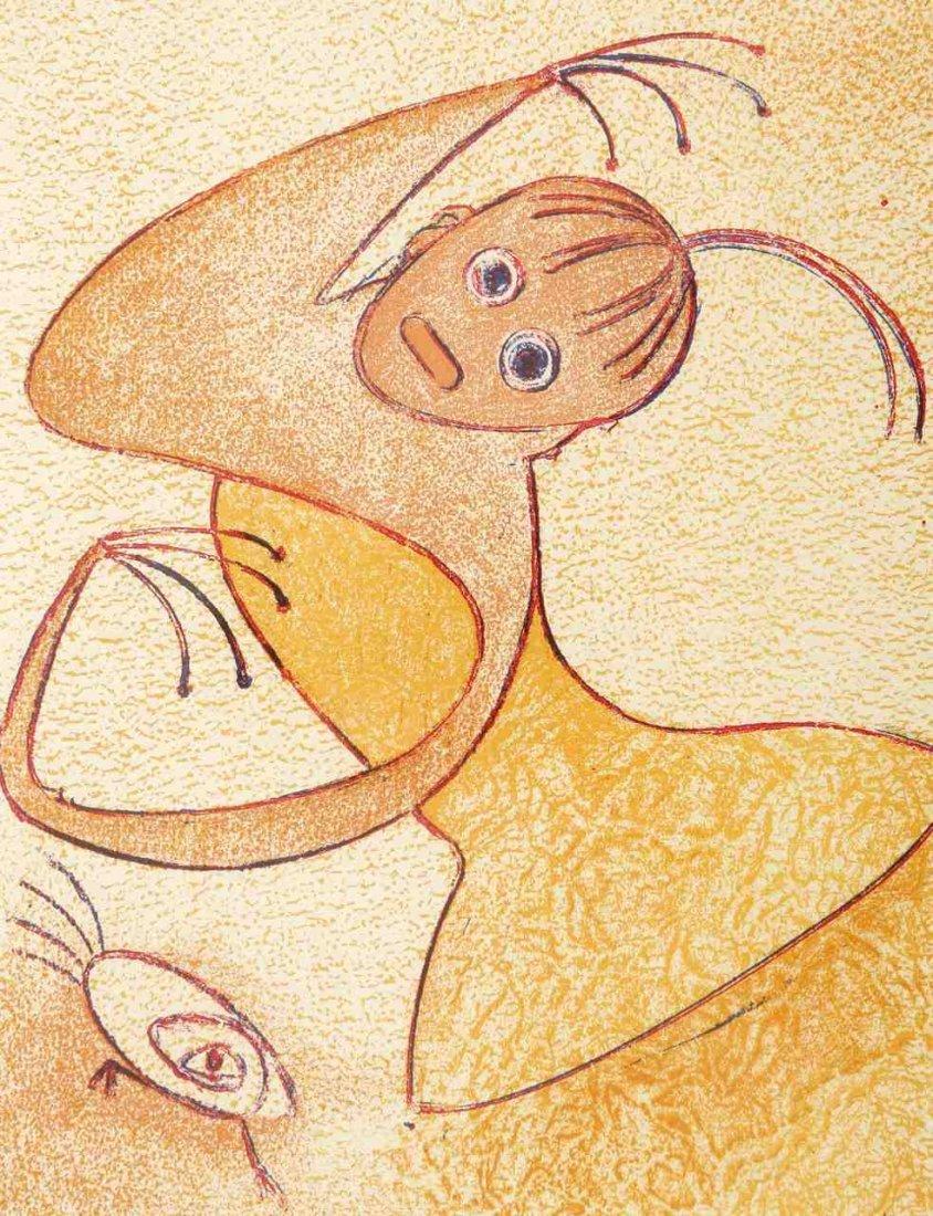 Max Ernst 1891 Brühl - 1976 Paris - aus: Hommage &