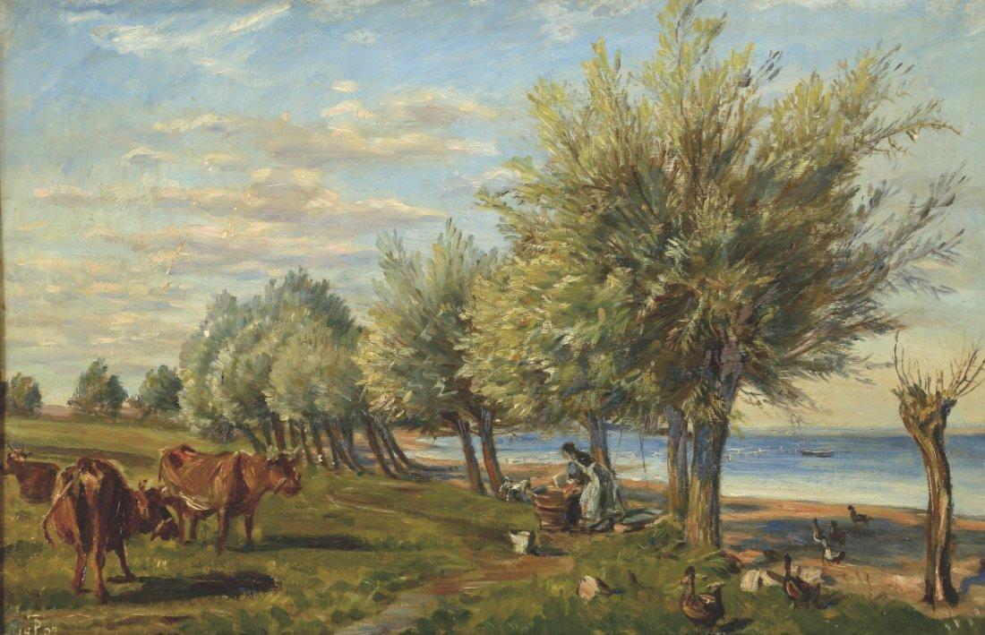 Theodore Esbern Philipsen 1840 Kopenhagen - 1...