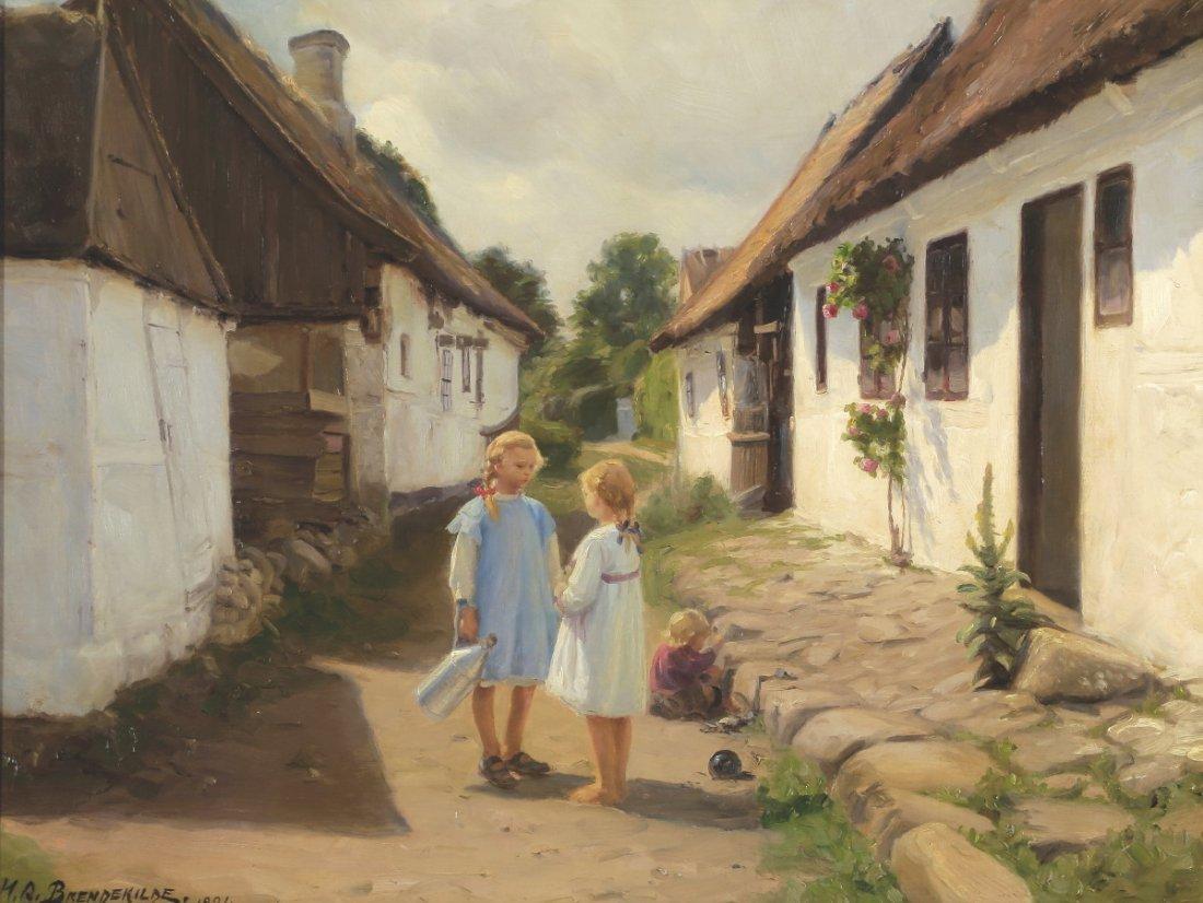 Hans Andersen Brendekilde 1857 Funen - 1942 J...
