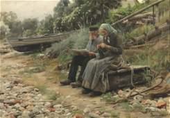 Peder Mönsted (Peder Mørk Mønsted) 1859 Grena...