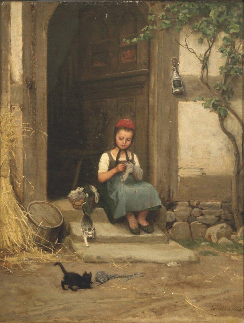 Caroline Dahlan Künstlerin des 19. Jahrhunder...