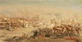 Juliusz Fortunat Kossak 1824 Wisnicz - 1899 K...