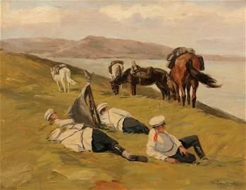 Nikolai Semenovich Samokish 1860 Nezhin - 194...