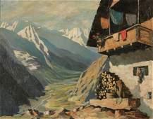 Oskar Mulley 1891 Klagenfurt - 1949 Garmisch ...
