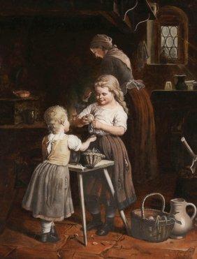 Künstler Des 19. Jahrhunderts - In Der Küche