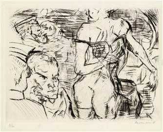 Max Beckmann 1884 Leipzig - 1950 New York - '...